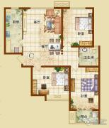 龙华苑3室1厅1卫0平方米户型图