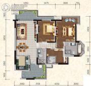 懿峰雅居3室2厅2卫134平方米户型图