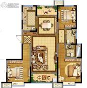 德杰・德裕天下3室2厅2卫138平方米户型图