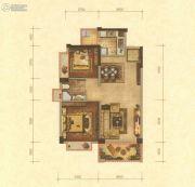 华讯大宅2室2厅1卫0平方米户型图