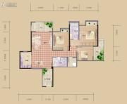 海赋长兴3室2厅2卫116平方米户型图
