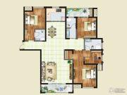 财信圣堤亚纳二期九臻3室2厅2卫189平方米户型图
