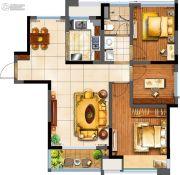 阳光100国际新城3室2厅1卫100平方米户型图