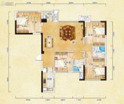 香颂诺丁山4室2厅0卫98平方米户型图
