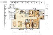 众美青城4室2厅3卫188平方米户型图