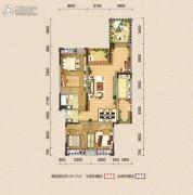 巨龙江山国际108平方米户型图