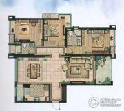 雅居乐・涟山3室2厅2卫139平方米户型图