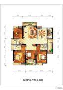 正祥特区美居4室2厅3卫164平方米户型图
