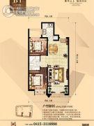 丹东万达广场2室21厅1卫0平方米户型图