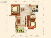 中冶枫树湾2室2厅0卫80平方米户型图