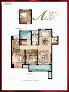 新城十里锦绣4室2厅1卫106平方米户型图