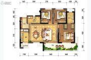 花样年家天下3室2厅2卫0平方米户型图