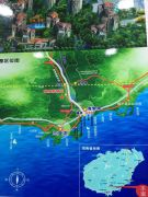 壹山郡交通图