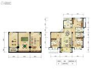 邻悦雅苑3室2厅2卫110平方米户型图
