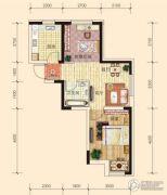 东安瑞凯国际1室2厅1卫58平方米户型图
