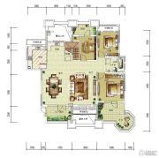 华润中央公园0室0厅0卫168平方米户型图