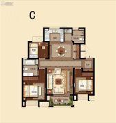 中昂朗琴3室2厅2卫0平方米户型图