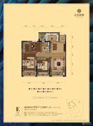 金色丽都3室2厅1卫0平方米户型图