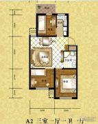 格林小镇3室1厅1卫0平方米户型图