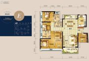 龙光玖龙湾4室2厅3卫189平方米户型图
