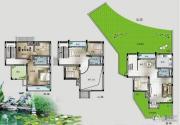 桂林留园5室3厅3卫143平方米户型图