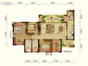 润扬观澜鹭岛4室2厅2卫115平方米户型图