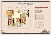奥园梅江天韵3室2厅2卫125平方米户型图