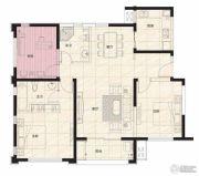 阳光100国际新城3室2厅2卫122平方米户型图