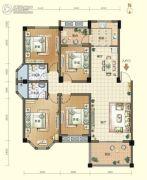 航宇・香格里拉4室2厅2卫137--140平方米户型图