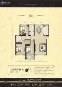 宏宇亚龙湾3室2厅2卫135平方米户型图