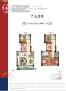 保利万兆・大国�Z6室2厅3卫0平方米户型图