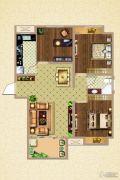 荣盛鹭岛荣府3室2厅1卫101平方米户型图