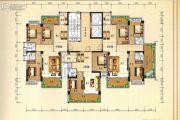 兴业花园2室2厅1卫83平方米户型图