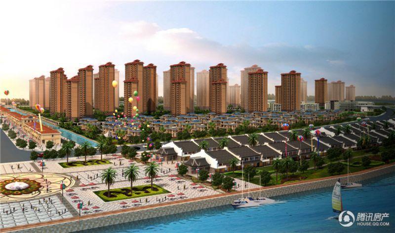 滨海新城9区半鸟瞰