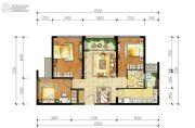 华润凤凰城3室2厅2卫0平方米户型图