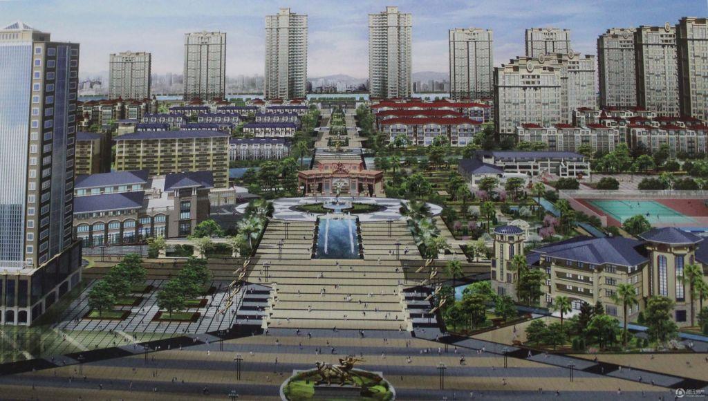 中港·雅典城 效果图 宿迁房产 腾讯宿迁房产