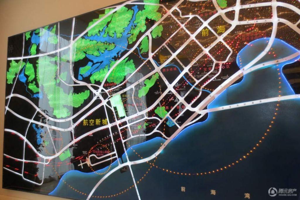 领航城项目区位图