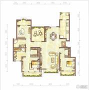 江与城3室2厅2卫112平方米户型图