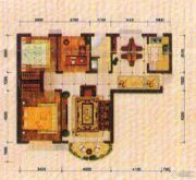 东方夏威夷3室2厅1卫112平方米户型图