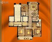 大诚名座4室2厅2卫123平方米户型图