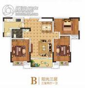 豫中桂园3室2厅1卫0平方米户型图