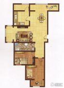 红海湾皇家海岸一期2室2厅1卫95平方米户型图
