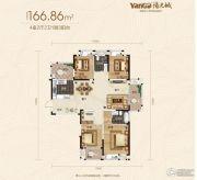 阳光城十里新城4室2厅2卫0平方米户型图
