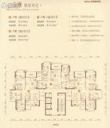 朝南凯旋汇3室2厅2卫0平方米户型图