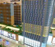 曼哈顿商业广场沙盘图