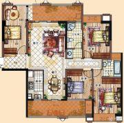 充耀盛荟4室2厅2卫144平方米户型图