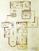 万泰麓溪公馆3室2厅3卫190平方米户型图