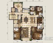 保利东郡5室2厅4卫315平方米户型图