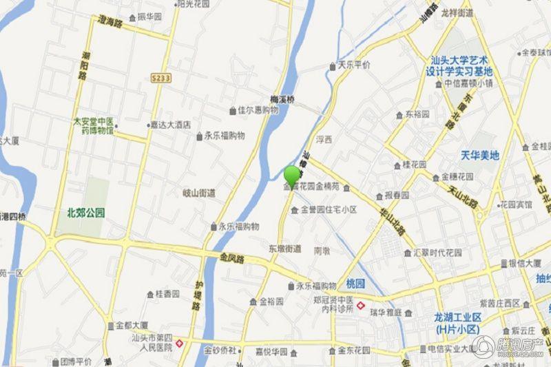 汕樟路204号片区三旧项目交通图