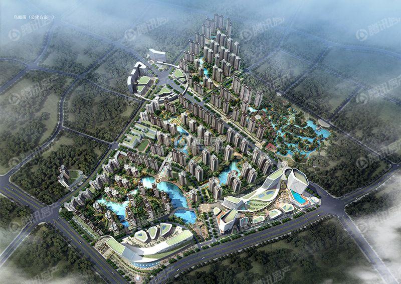 东盟城鸟瞰图